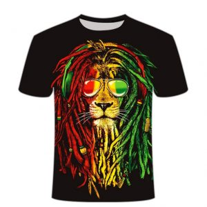 Lion Rasta Shirt Weed Clothes Australia
