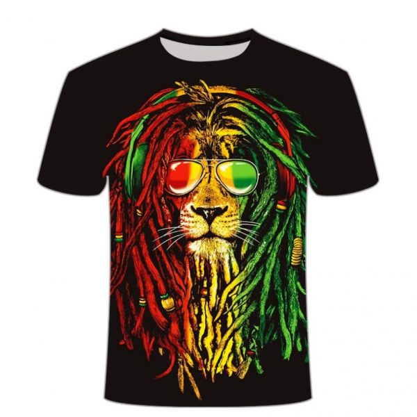 Lion Rasta Shirt Weed Clothes Australia